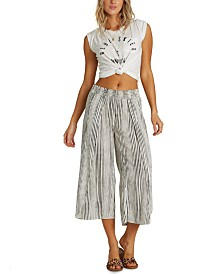 Billabong Juniors' Cropped Wrap Pants