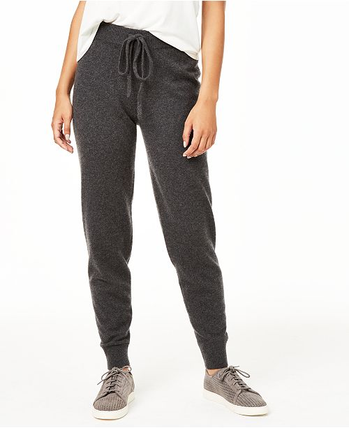 fast delivery big discount of 2019 buying cheap Cashmere Jogger Pants, Regular & Petite Sizes, Created for Macy's