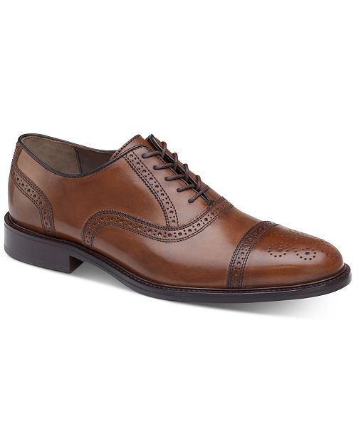 Johnston & Murphy Daley Cap-Toe Oxfords