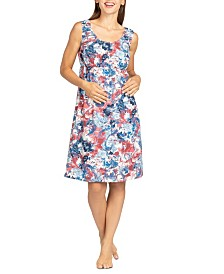 Savi Mom Cassidy Lounge Dress/Nightie Maternity and Nursing