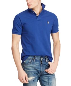 Polo Ralph Lauren T-shirts MEN'S CLASSIC FIT MESH POLO SHIRT