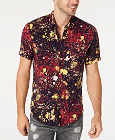 Men's Paint Splatter Shirt