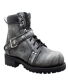 "Men's 6"" Lace Zipper Boot"