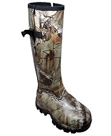 "AdTec Men's 17"" Rubber Side Zip Boot Camo"