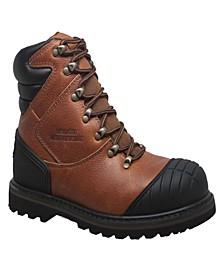 """Men's 7"""" Steel Toe Work Boot Reddish"""