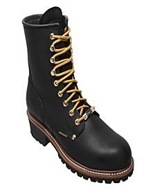 "Men's 9"" Water Resistant Logger Boot"