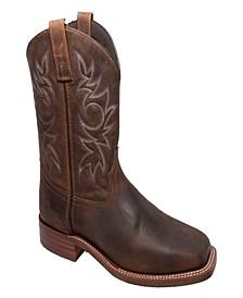 "Men's 11"" Western Square Toe Boot"