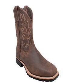 "Men's 12"" Steel Toe Work Western Boot"
