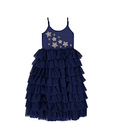 Masala Baby Kids Starry Night Tulle Dress