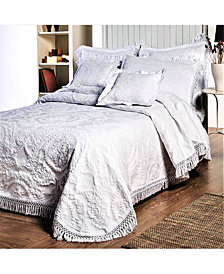 La Rochelle Antique Medallion Bedspread, Twin