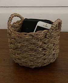 Wholestory Collective Wicker Accessory Basket
