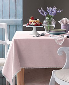 French Perle Blush Table Linen Collection