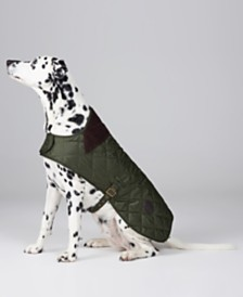 Barbour Quilted Reversible Plaid Dog Coat