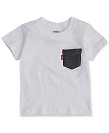 Baby Boys Pocket Cotton T-Shirt