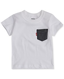 Levi's® Baby Boys Pocket Cotton T-Shirt