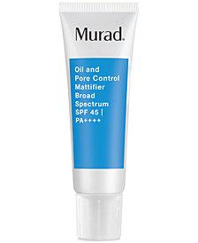 Murad Oil & Pore Control Mattifier SPF 45, 1.7-oz.