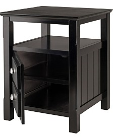 Winsome Wood Timber Night Stand
