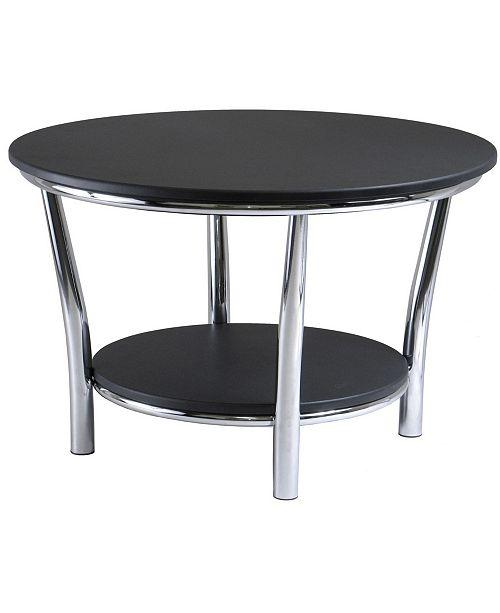 Winsome Maya Round Coffee Table