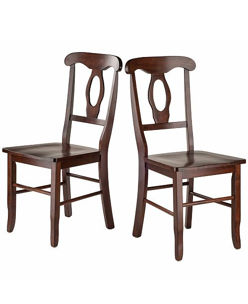 Winsome Wood Renaissance 2-Piece Set