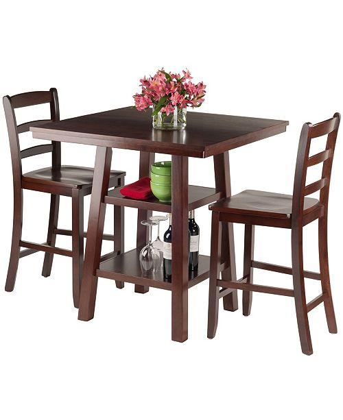 Winsome Orlando 3-Piece High Table Set