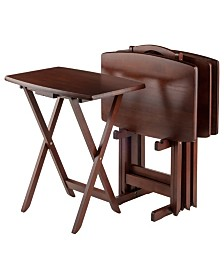 Winsome Wood Darryl 5-Piece Oversize Snack Table Set
