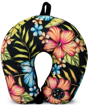 The Maui and Sons microbeads neck pillow is a soft neck pillow for the perfect travel that is made for those who really want to fall asleep but has nowhere to lay.