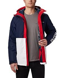 Men's Timberturner™ Colorblocked Hooded Ski Jacket