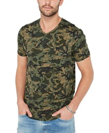 Buffalo David Bitton Men's Well-Established Camo T-Shirt