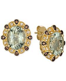 Le Vian® Mint Julep Quartz (5 ct. t.w.) & Diamond (1/4 ct. t.w.) Ring in 14k Gold