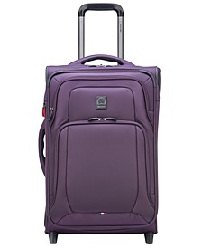 "OptiMax Lite 21"" Expandable 2-Wheel Carry-On Suitcase"