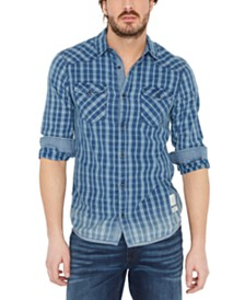 Buffalo David Bitton Men's Sowelk Plaid Shirt