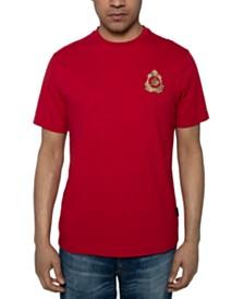 Sean John Men's Yarn Dyed Logo T-Shirt