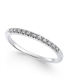 Diamond Band (1/10 ct. t.w.) in 14k White Gold