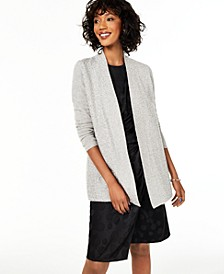 Cashmere Sequin-Trim Completer Sweater, Regular & Petite, Created for Macy's