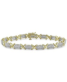 Diamond Tennis Bracelet (3 ct. t.w.) in 10k Gold