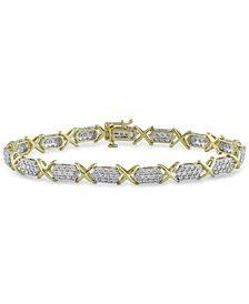 Diamond Tennis Bracelet (3 ct. t.w.) in 10k Gold
