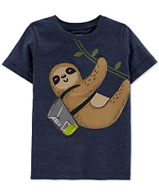 Carter's Toddler Boys Sloth-Print T-Shirt