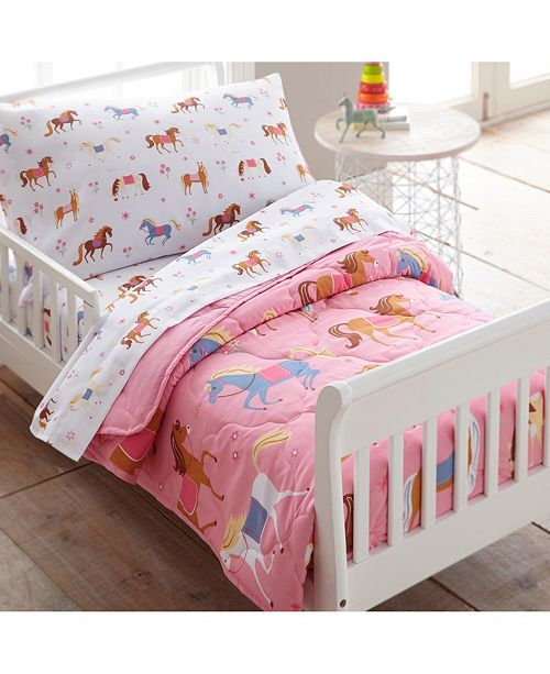 Wildkin 4 Pc Bed in a Bag - Toddler Collection