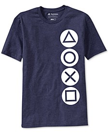 PlayStation Buttons Men's Graphic T-Shirt