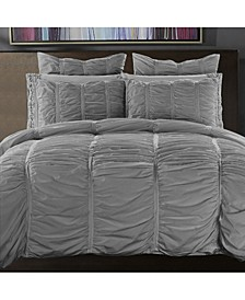 Cotton 3-Piece Duvet Cover Set, Full/Queen