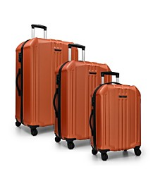 Elite Luggage Capitola 3-Piece Hardside Luggage Spinner Set