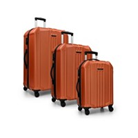 Deals on Elite Luggage Capitola 3-Piece Hardside Luggage Spinner Se