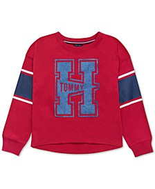 Baby Girls Logo-Print Varsity Sweatshirt