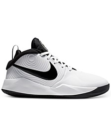 Big Boys Team Hustle D9 Basketball Sneakers from Finish Line