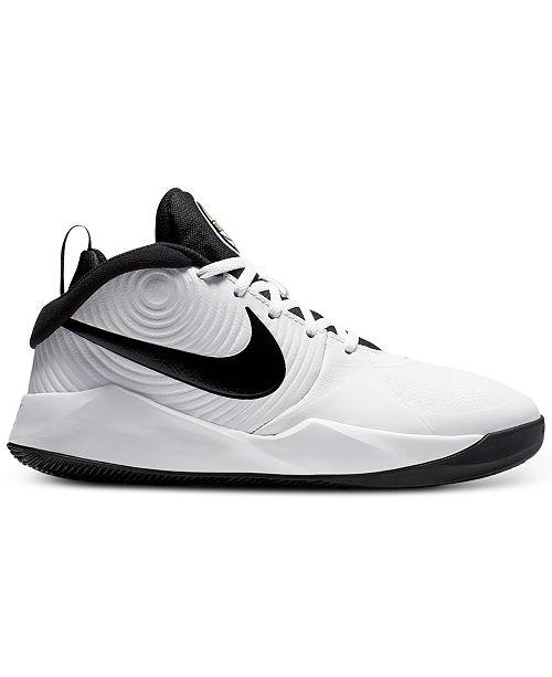 Nike Scarpe Basket Jr Team Hustle