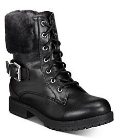 Sugar Youth Short Lace-Up Boots
