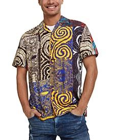 Men's Swirl Print Shirt