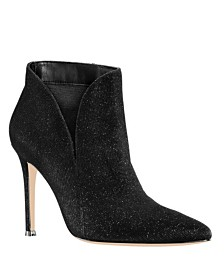 Nina Dallis Glitter Booties