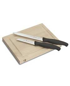 J.A. Henckels International 3-Pc. Bar Knife & Board Set