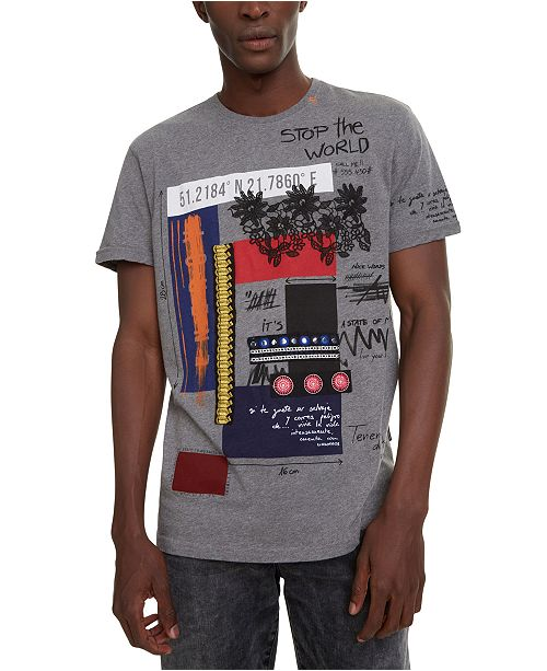Desigual Men's Domingo Graphic T-Shirt